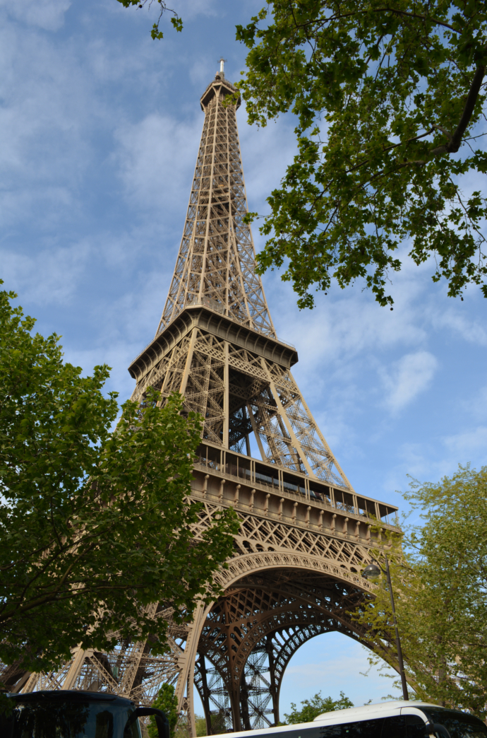 Eiffel Tower, Parc du Champ de Mars, Paris, France