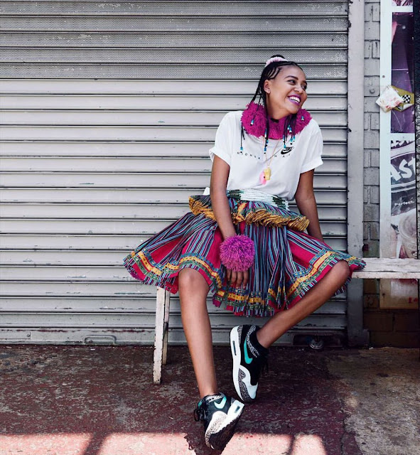 sho madjozi hairstyle, sho madjozi xibelani, how to do sho madjozi hair