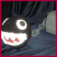 Chain chomp amigurumi
