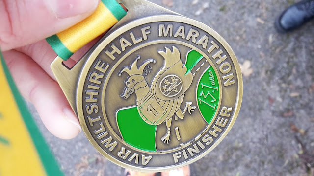 Project 366 2016 day 332 - Half Marathon PB // 76sunflowers