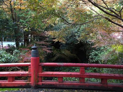 磐船神社 紅葉