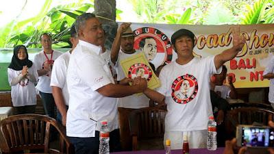 Dukung Dua Periode, Sedulur Jokowi NTB Resmi Deklarasi