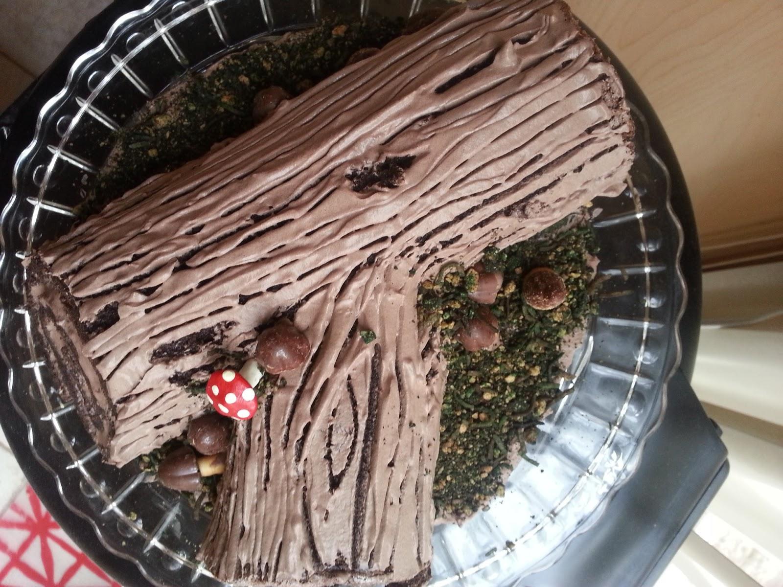 Sciuridae Log Lady Cake Ok It S Buche De Noel