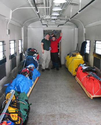 Canoedog Deep Freeze 2004 Scouter Lake