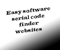 easy software serial code finder websites