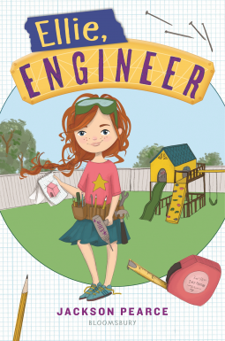 Ellie, Engineer - Ellie's the kind of girl who has a tool belt strapped over her skirt. She's got an engineer's brain and wants to design, create, and build whenever she has the chance and her best friend Kit's birthday gives her just that. #EllieEngineer #NetGalley #MiddleGrades #Books #ChildrensLit