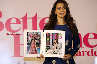 Bollywood Actress Juhi Chawla Launchs Better Homes 10th Anniversary Celetion Cover  0045.JPG