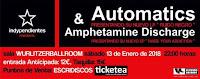 Concierto de Automatics y Amphetamine Discharge en Wurlitzer Ballroom