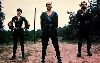 Terence Stamp as General Zod with Ursa and Non in Superman 2 (1980)
