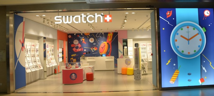 Swatch opens its first corporate store in Mumbai  d60140fab94a0