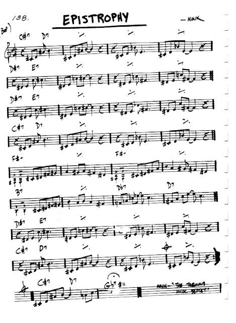 Partitura Flauta Monk