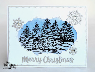 Stamp Set: Peaceful Wishes  Custom Dies: Snow Crystals, Holiday Words, Pierced Rectangles, Double Pierced Vintage Labels, Vintage Labels