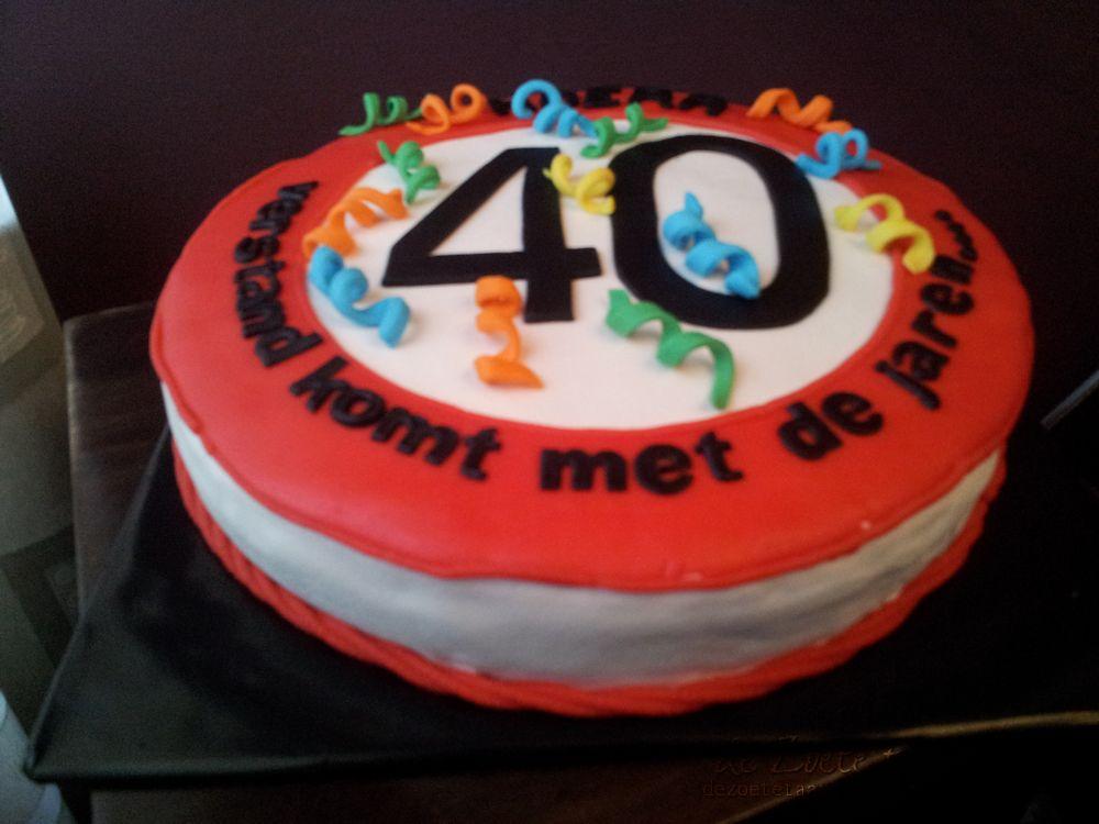 verjaardagstaart 40 jaar De zoete taart: 40 jaar verjaardagstaart 40 jaar