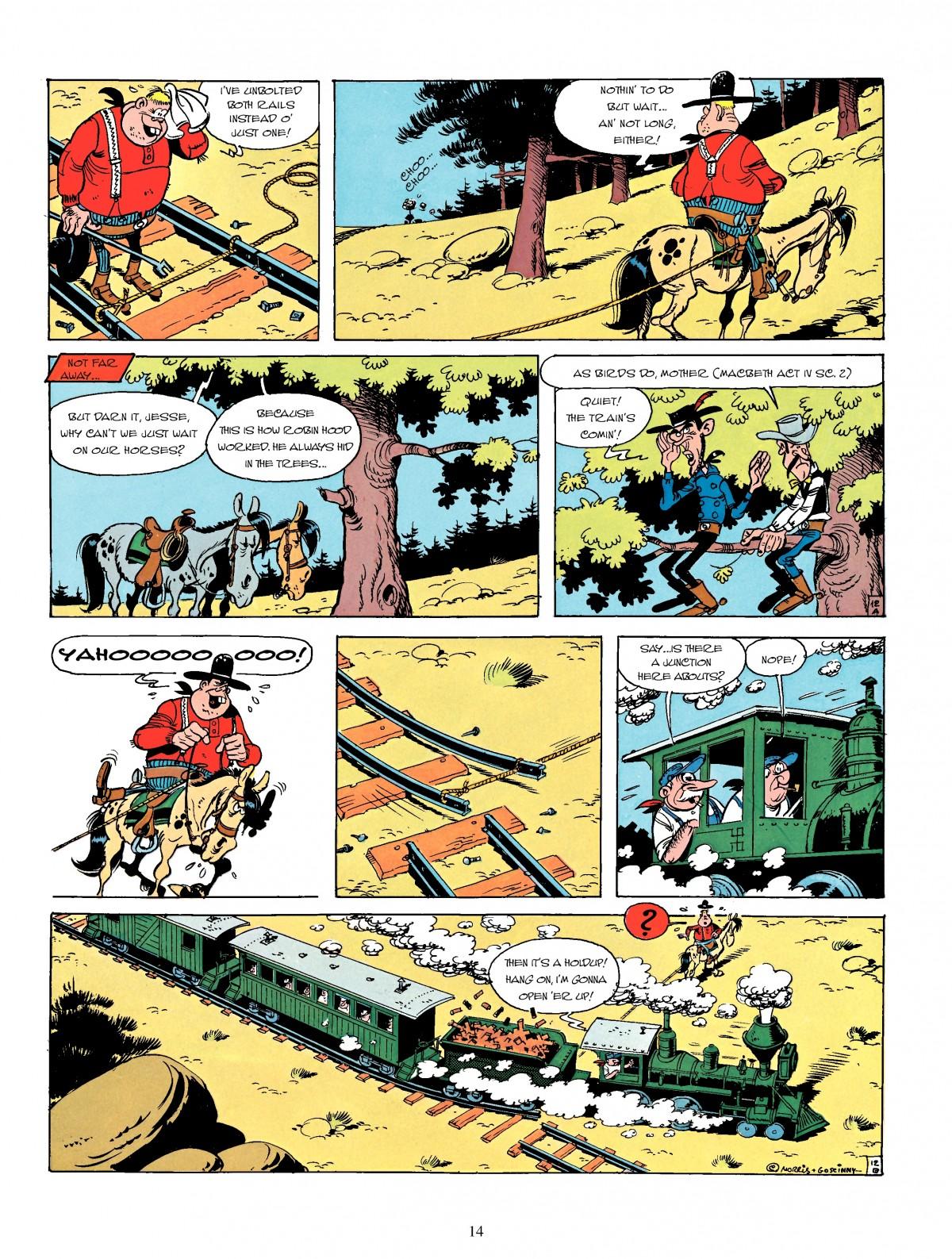 Read online A Lucky Luke Adventure comic -  Issue #4 - 16