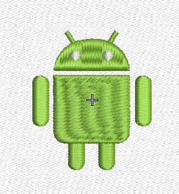 robot de android en emb
