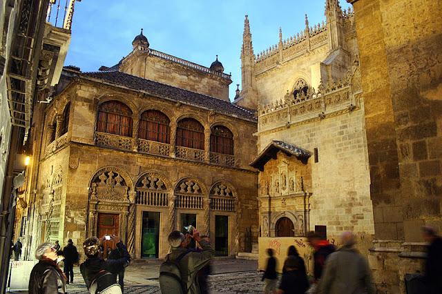 A Espanha da Rainha Isabel de Castela (série Isabel) - CapelaReal, Granada