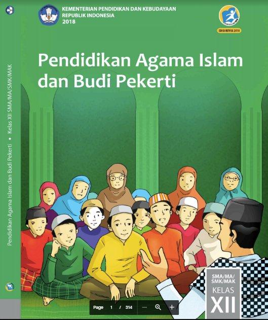 Buku Guru PAI dan BP Kelas 12 SMA Kurikulum 2013 Revisi 2018