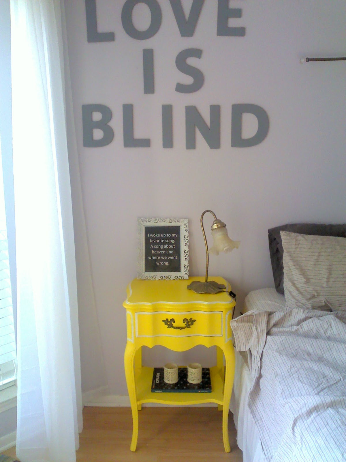A Brandi Sized Blog: Yellow Furniture For The Single Ladies