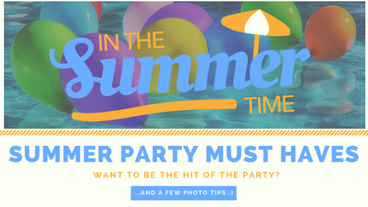 FIVE Summer Party Must Haves