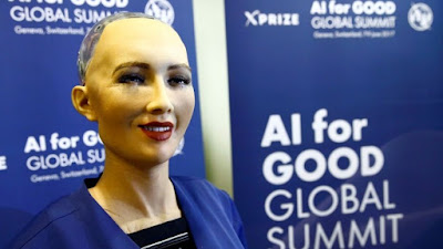 HILARIOUS: first-ever Female Emotional robot citizen wants a baby, Husband and Virtually a Family