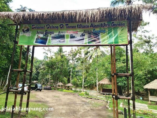 wisata alam wira garden