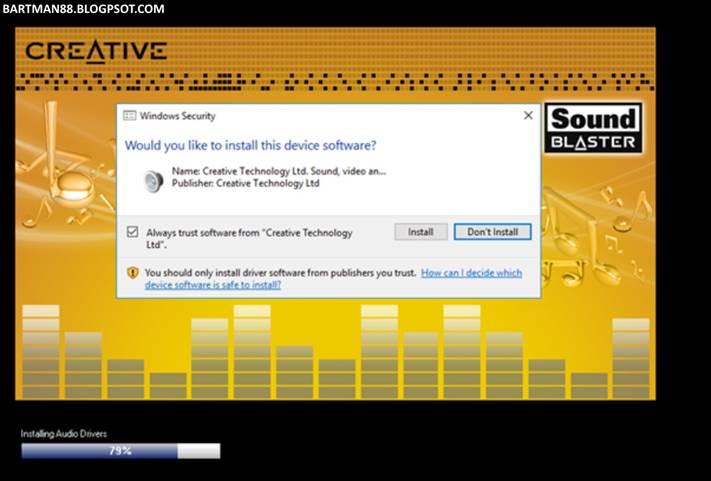 Installing Sound Blaster X-Fi Surround 5 1 Pro USB on Windows Server