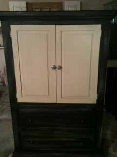 Furniture By Mk Designs Shabby Chic Black And Antique