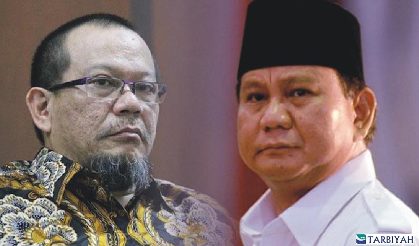 La Nyalla - Prabowo