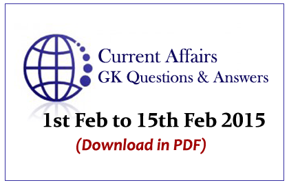Current Affairs and GK Capsule