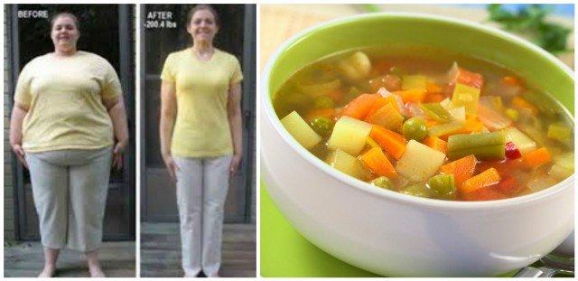 Dieta da sopa milagrosa: Criada pelos Médicos para perder até 5 kg em 7 dias!