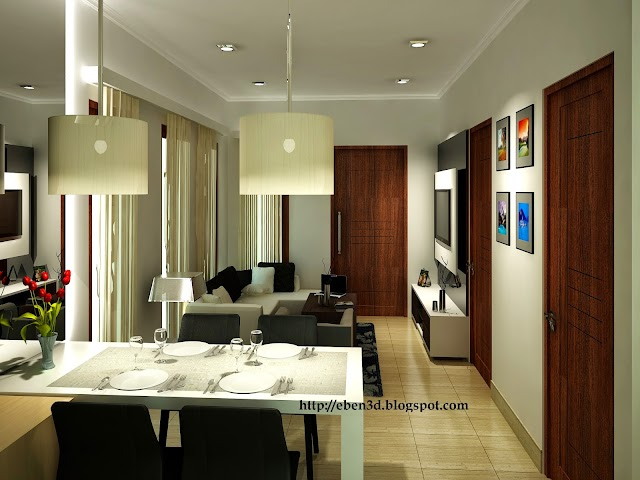 Interior 3D Livingroom