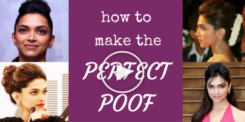 How to do perfect Front Poof
