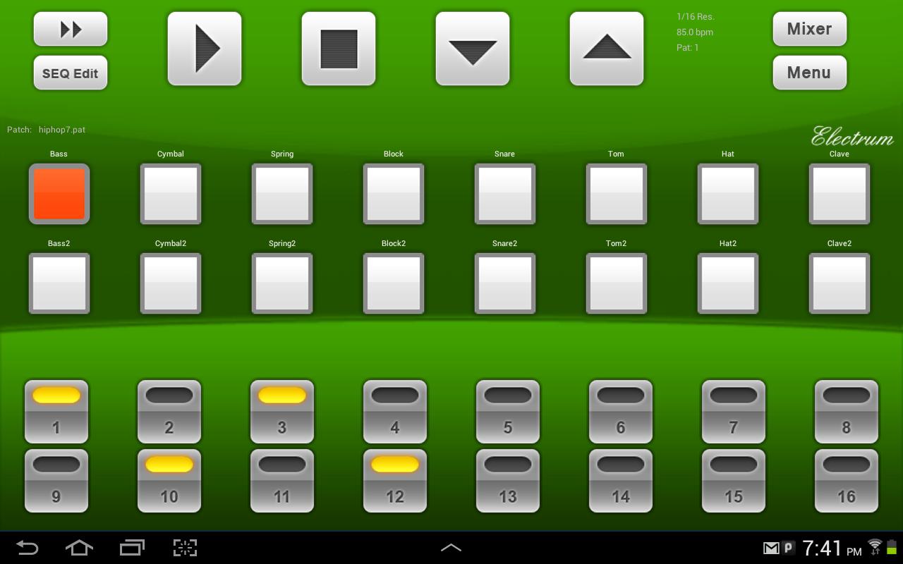 download electrum drum machine sampler v4 8 3 apk download apk center. Black Bedroom Furniture Sets. Home Design Ideas