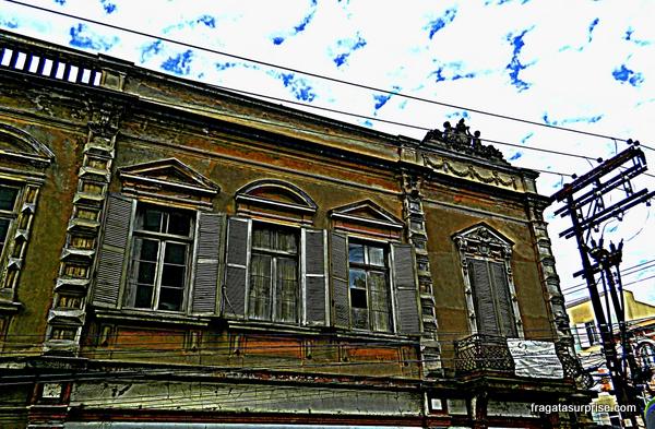 Casarão antigo no Centro de Porto Alegre
