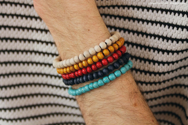 bransoletki dla mężczyzn h&m