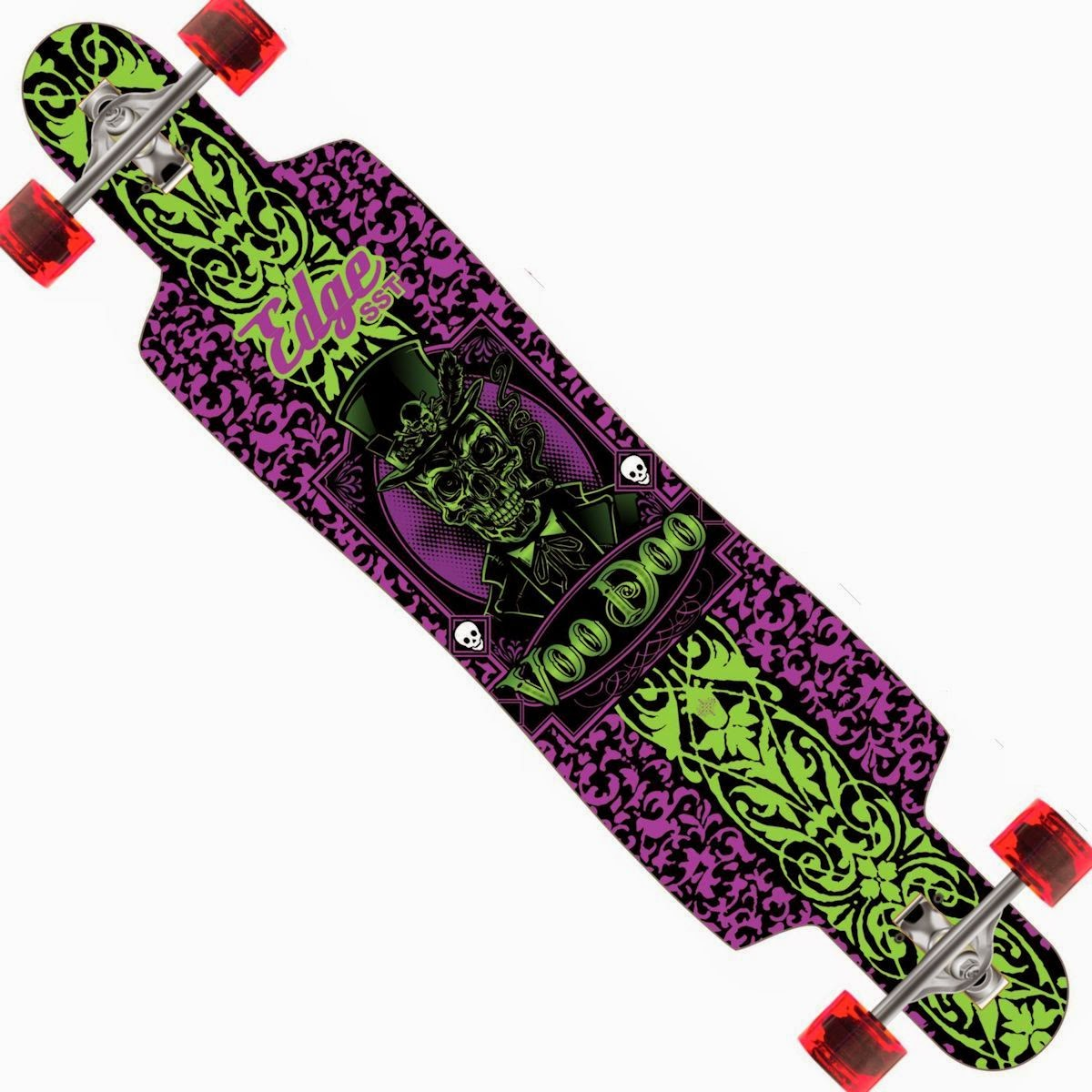 Baron Voodoo Longboard Drop Through Complete 9.5″ x 42.75″