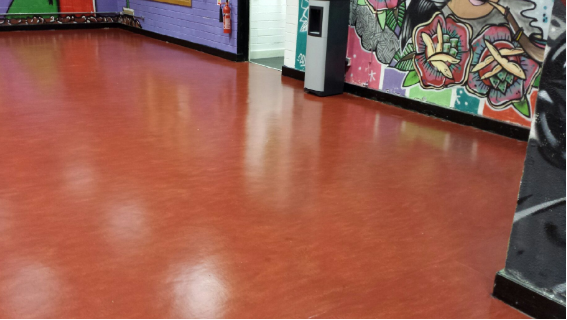What is in Marmoleum Flooring