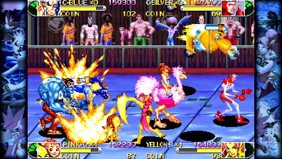 capcom beat em up games battle circuit