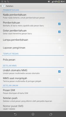 SMARTPHONE ANDROID TIDAK BISA MENERIMA DAN KIRIM SMS