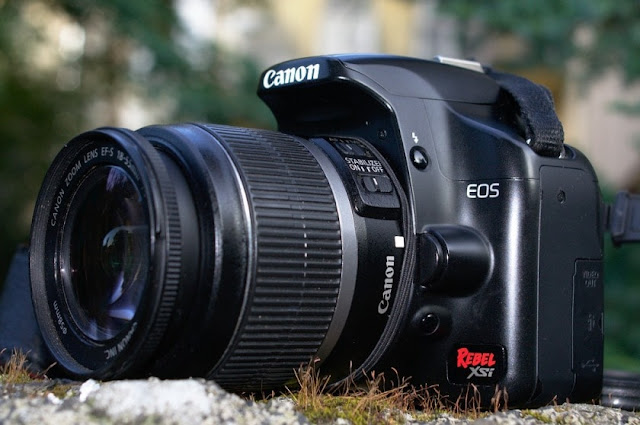 Canon EOS Rebel XSi Camera Firmware and Software Update
