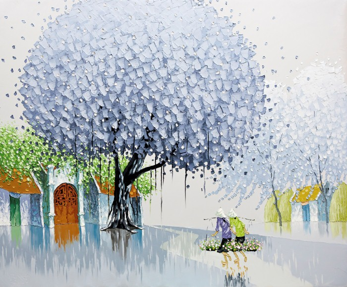 Современные вьетнамские художники. Phan Thu Trang 3