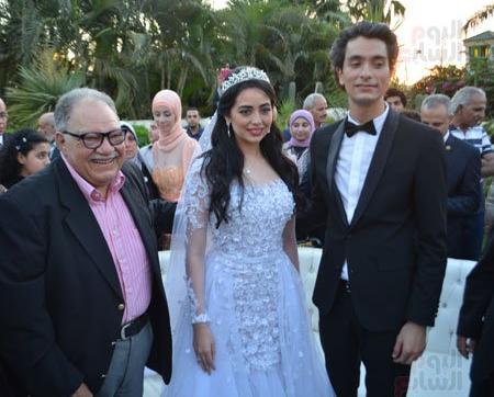 بالصور..عقد قران هبة مجدى ومحمد محسن ، بحضور يحيى الفخرانى وعدد كبير من الفنانين