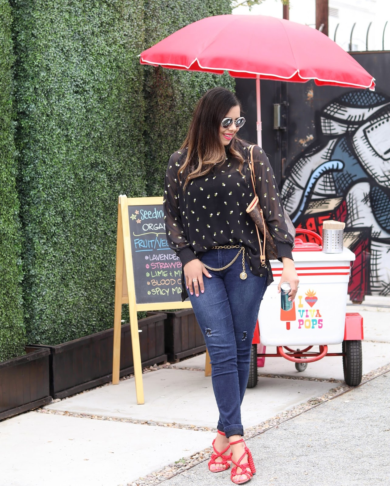 cabi spring 2018 outfit, cabi 2018 blogger, san diego blogger events
