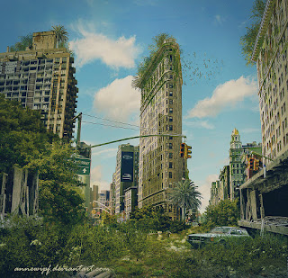 Postapocalyptic New York