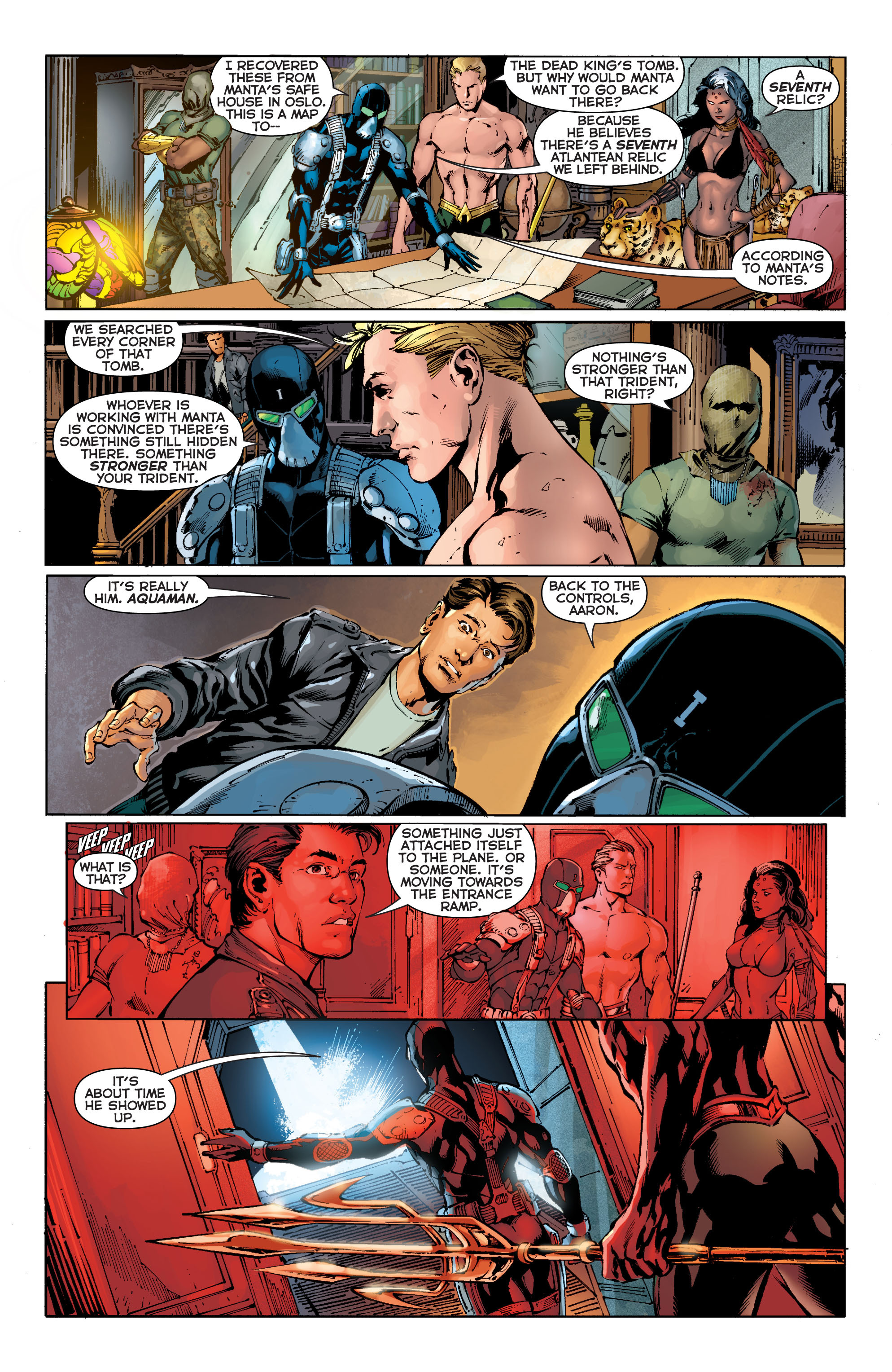 Read online Aquaman (2011) comic -  Issue #11 - 8