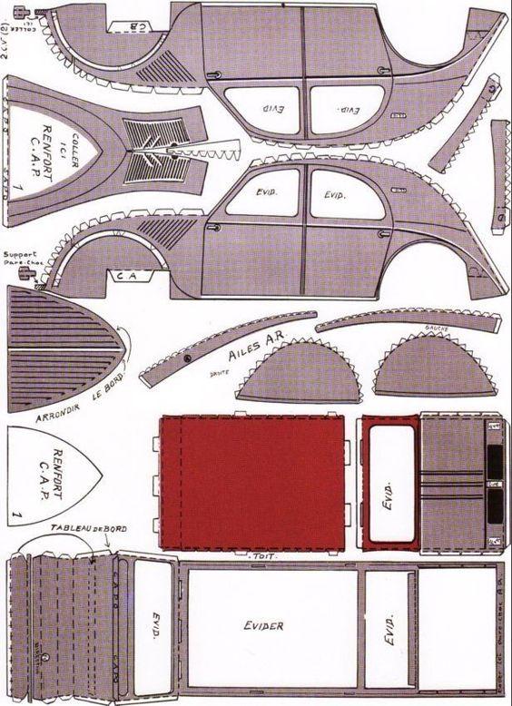 La Boite 224 Id 233 Es De L Atelier 3b La 2 Cv Porte