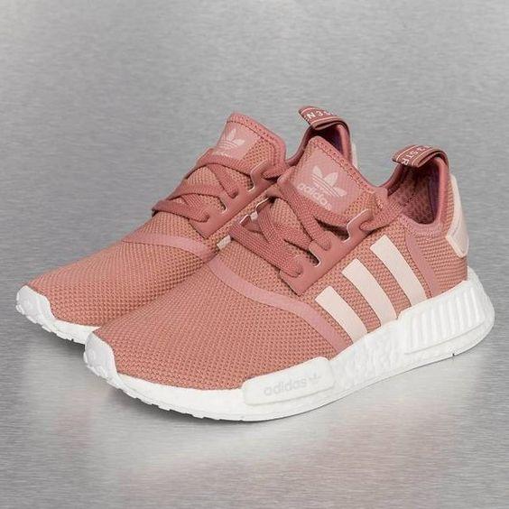 pink adidas sneakers