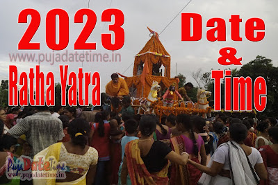 2023 Rath Yatra Date & Time