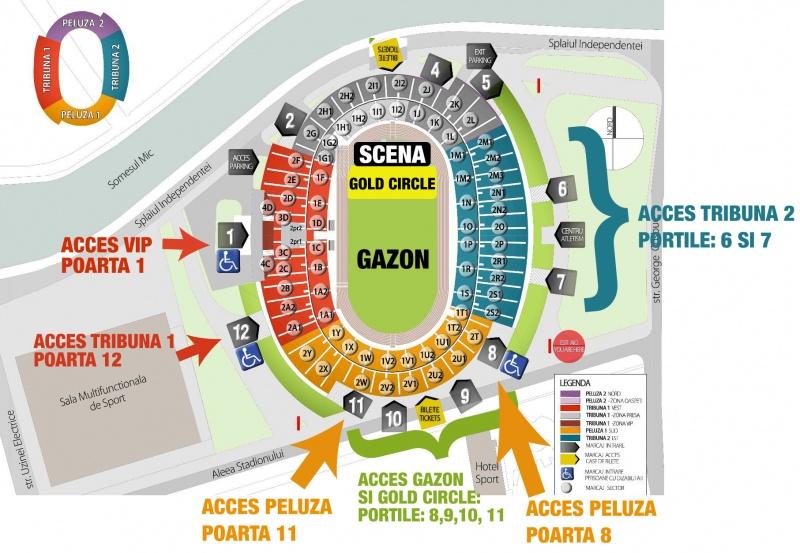 Laurmedia Arena Nationala Harta