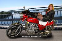 High heel boots, leather clothes, no panties, Honda CX, Viivi II - Suomen tunnetuin yksittäinen moottoripyörä?